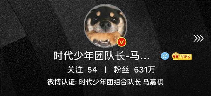 Ma Jiaqi Weibo