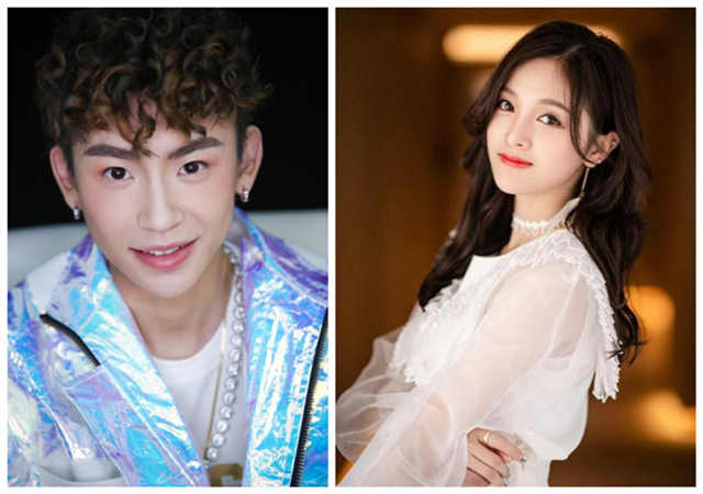 Betty Wu Xuanyi and Xiao Gui Wang Linkai are rumored to be in love secretly? They were playing games together on Valentine's Day!