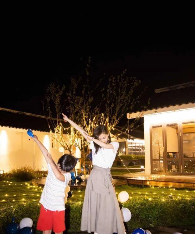 Olivia Wang Ziwen Son