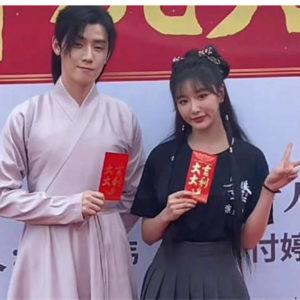"""R1SE Ren Hao partners The9 Snow Kong Xue'er in """"Ming Mei Shan Qu"""""""